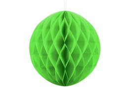 Groen:limegroen Honeycomb bal, 30cm