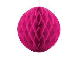 Pink Honeycomb bal, 30cm