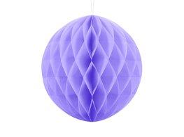 Lila Honeycomb bal, 30cm
