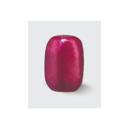 Rood bordeaux Krullint, 5 mm, 20 m