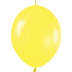 Geel Knoopballon