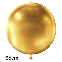 Goud Metallic XL ballon, 65cm