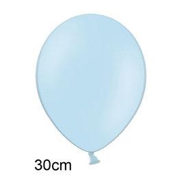 Blauw:Lichtblauw ballon (30cm)