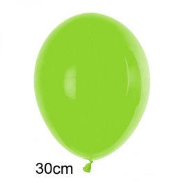 Groen:Lime / Appelgroen ballon (30cm)