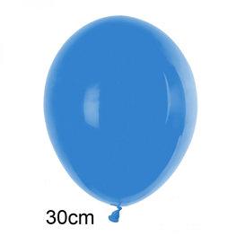 Blauw ballon (30cm)