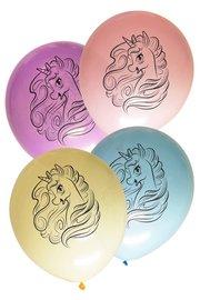 Unicorn ballonnen, 8 stuks, 30cm