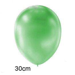 Groen Metallic ballon (30cm)