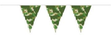 Legerprint Camouflage Vlaggenlijn, 10 meter