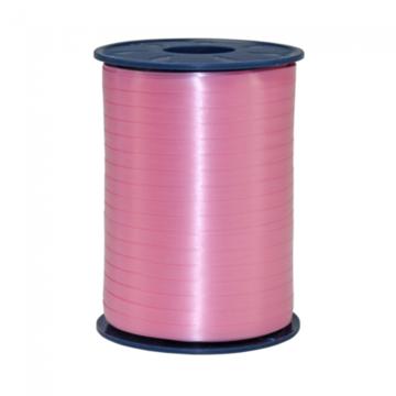 Roze:Lichtroze Krullint, 5 mm, rol 500 m