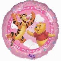 It's a Girl Folieballon Winnie de Pooh