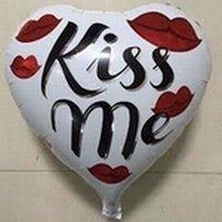 Kiss Me folieballon, 45 cm