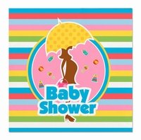 Baby Shower Servetten, 20 stuks