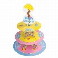 Baby Shower Etagere voor o.a. cupcakes
