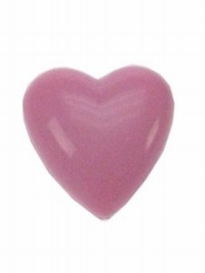Broche Hart Roze met knipperlicht