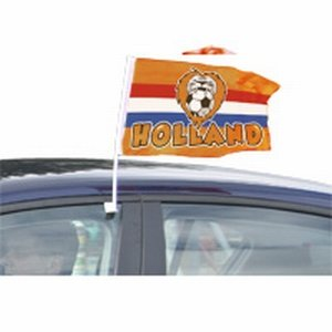 Autovlag Oranje Leeuw 30x45 cm