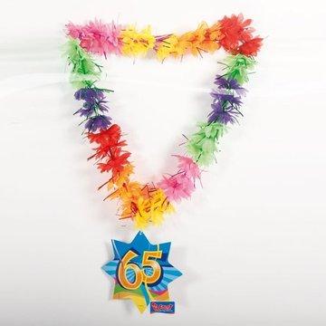 65 jaar, Swirl Hawaii krans