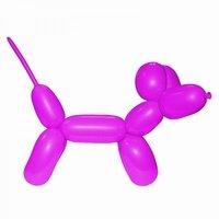 Roze:Pink Modelleerballon 2x60