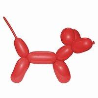 Rood Modelleerballon 2x60