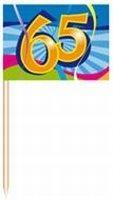 65 jaar, Swirl Prikkers, 50 stuks