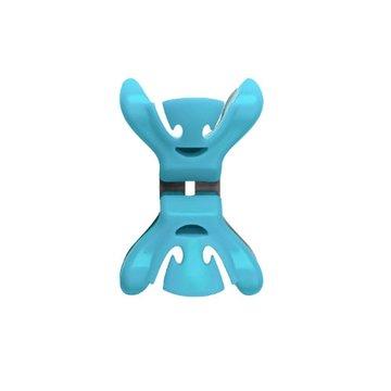 Slingerklemmen Clenchy Blauw, 4 stuks