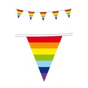 Regenboog Vlaggenlijn, 10 meter