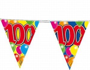 100 jaar, Vlaggenlijn, 10 meter