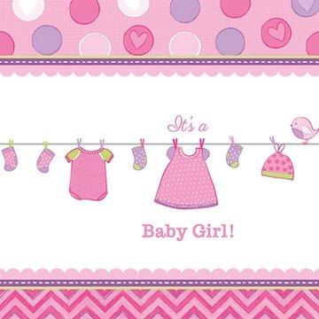 Baby Girl Tafelkleed, 138x259cm