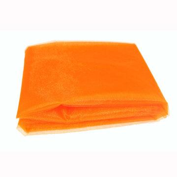 Oranje Organza decoratiestof