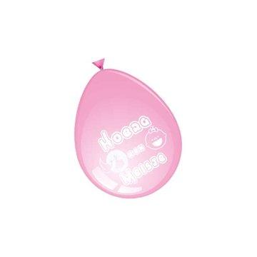 Hoera een meisje, Ballonnen, 8 stuks
