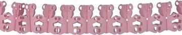 Slinger roze beertjes , 6 meter
