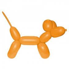Oranje Modelleerballon 2x60