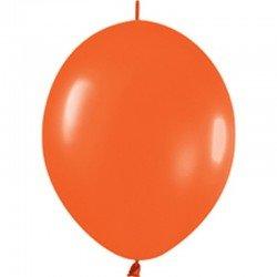 Oranje Knoopballon
