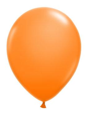 Oranje kleine ballon (13cm)