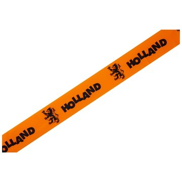 Afzetlint Oranje Holland, 20 meter