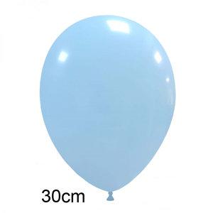 matte pastel ballonnen baby blauw