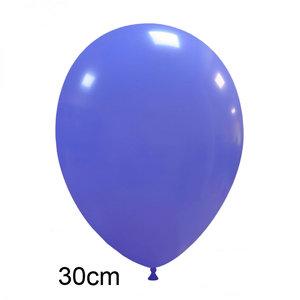 matte pastel ballonnen periwinkle ultramarine blauw