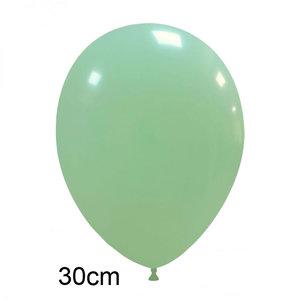 matte pastel ballonnen mint munt groen
