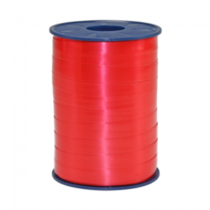 rood krullint 10 mm breed, rol 500 m