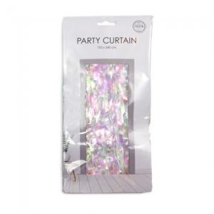 Party deurgordijn iridescent, 240x100 cm