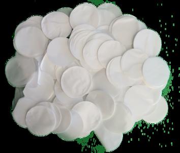 Confetti XL wit metallic