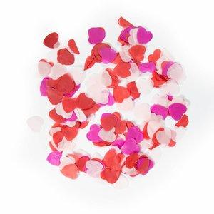 Confetti hartjes mix XL