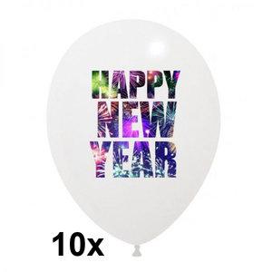 Happy New Year ballonnen