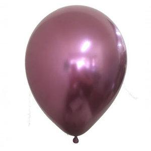 Chrome ballonnen rosé goud / mauve