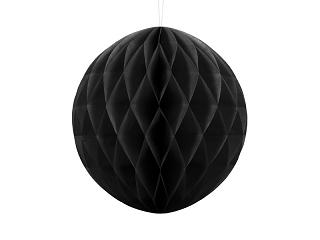 honeycomb bal zwart 30 cm