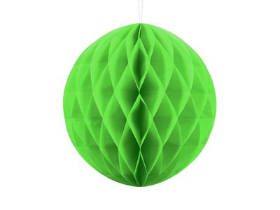 honeycomb bal lime groen appelgroen 30 cm