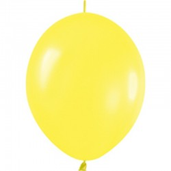 Knoopballon geel