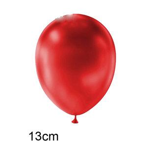Rood metallic kleine ballon