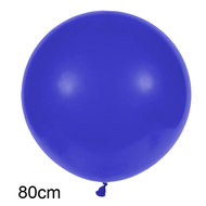 donker blauw XL ballon 80 cm