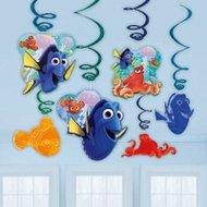 Finding Dory Hangdecoratie Swirl, 6 stuks