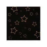 VIP servetten, zwart met sterren